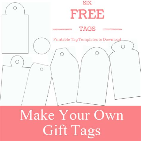 Free Printable Gift Tags Make Breaks Gift Tags Templates Free