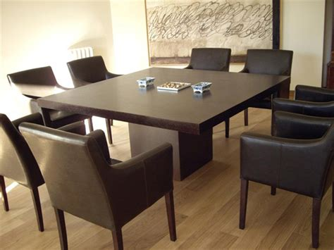 10 Fabulous Square Oak Dining Tables Square Dining Table For 10