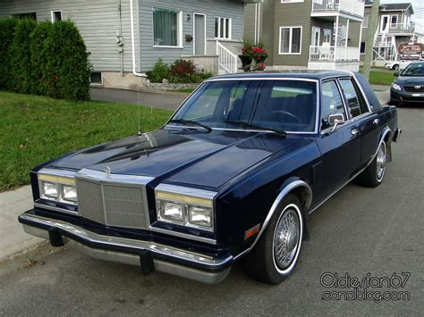 Chrysler Fifth Avenue by Chrysler Fifth Avenue 1983 1989 Oldiesfan67 Quot Mon Auto Quot
