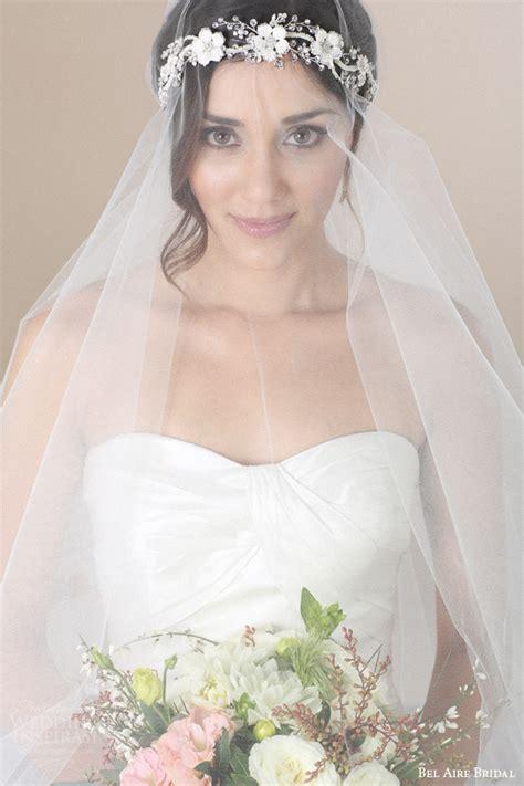 wedding flower veil hair accessories by bel aire bridal sponsor highlight wedding inspirasi