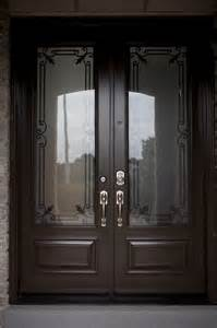 Glass Inserts Front Doors Classic Style Wrought Iron Door Inserts Entry Other Metro By Lusso Design Entry Doors