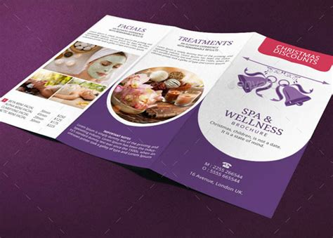 spa brochure spa brochure template deals by blogankids