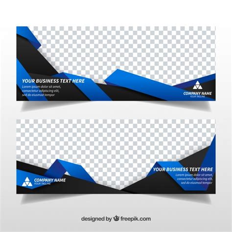 abstract design banners vector free download banner template vectors photos and psd files free download