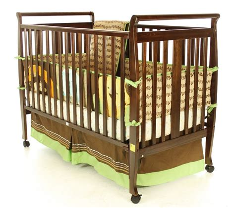 Baby Sleigh Bed Cribs On Me Ii 2 In 1 Convertible Sleigh Crib Espresso Baby Baby Furniture Cribs