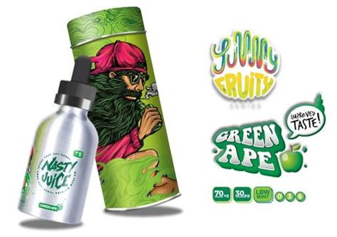 Liquid Premium Juice Series Green Ape juice 60ml e liquid fruity series the