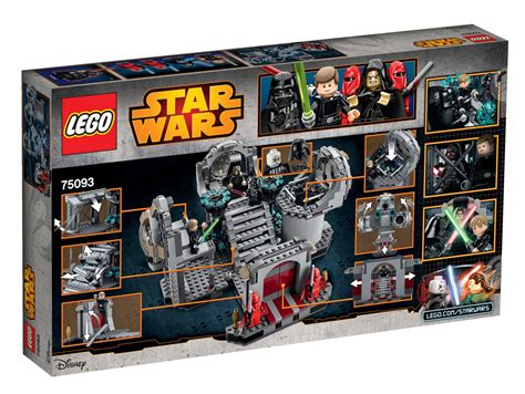 death star lego star wars final duel lego star wars death star final duel 75093 toy at
