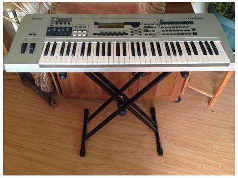 Keyboard Yamaha Mo6 yamaha mo6 workstation keyboard outside comox valley courtenay comox