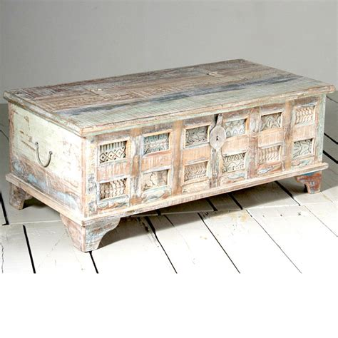 buy whiteleaf upcycled trunk box coffee table