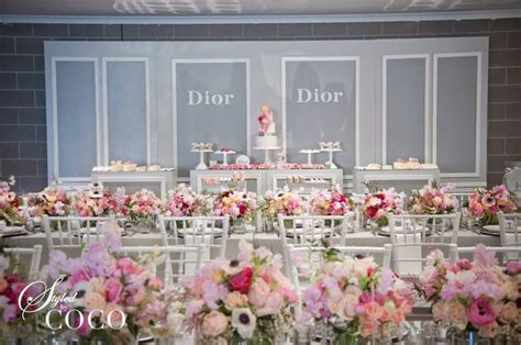 themed events melbourne miss dior first birthday theme miss dior first birthday