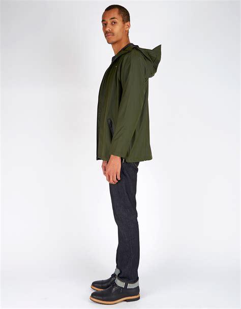 Jaket Parka Bojiel Green Unisex unisex rains breaker jacket s green garmentory