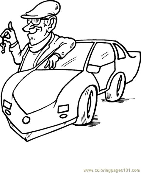 cars land coloring pages and land colouring pages page 3