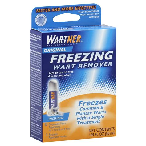 Planters Wart Freeze by Compound W Wart Remover Maximum Strength Fast Acting Gel 0 25 Oz 7 G Health Wellness
