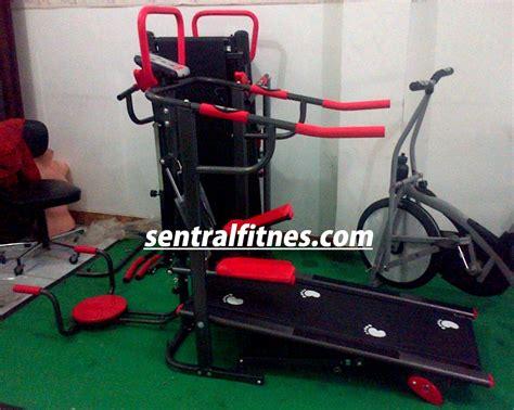 Jual Alat Catok Murah jual alat olahraga treadmill manual 4 fungsi semarang murah cod