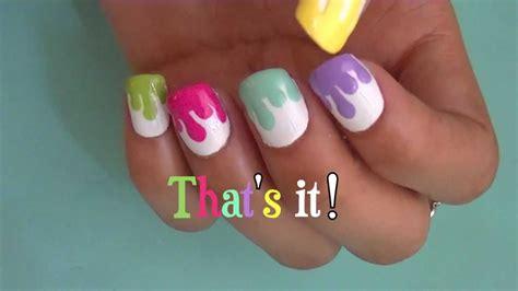 painting nail paint nail