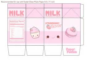Milk Template by Milk Printable Box Search Crafty For