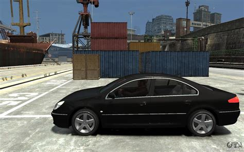 peugeot 607 coupe peugeot 607 sedan 2007 for gta 4