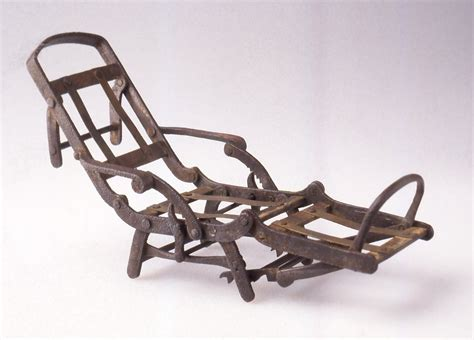 Mechanical Chair by File Henry Patent Model Mechanical Chair Ca 1872