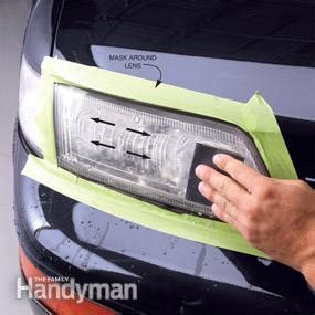 how to clean headlights — the family handyaman | the
