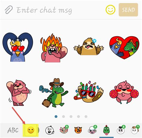 Samsung Text Stickers