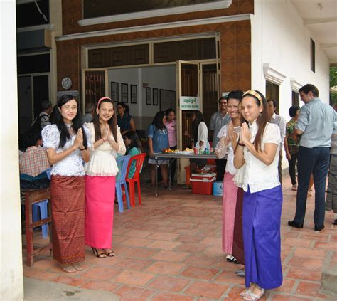 welcoming guests phnom penh cambodia