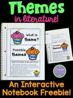 themes in literature list elementary upper elementary snapshots teaching about themes in