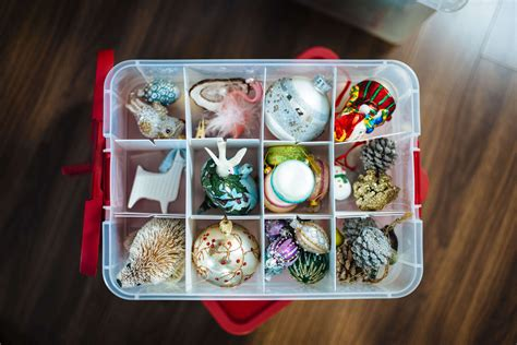 how to organize a christmas tree organizing decorations the taste sf