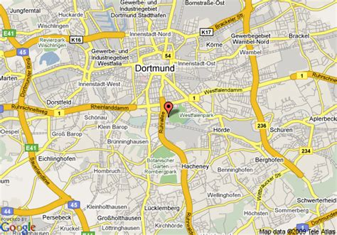 map of germany dortmund map of dortmund dortmund