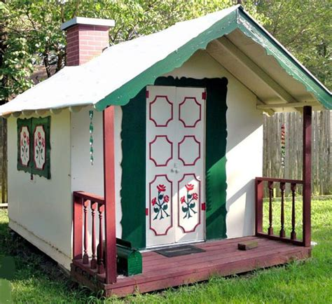 life size doll houses movable playhouse blueprints instructional design plans for clubhouse fort cottage or life