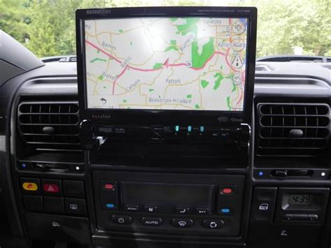 electronic toll collection 1997 land rover discovery navigation system 2000 discovery with navi double din touchscreen page 2 land rover forums land rover