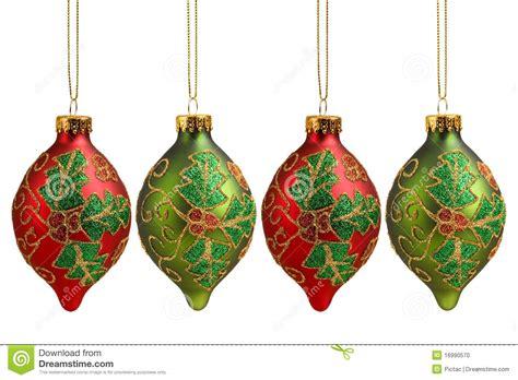 christmas ornaments stock photo image