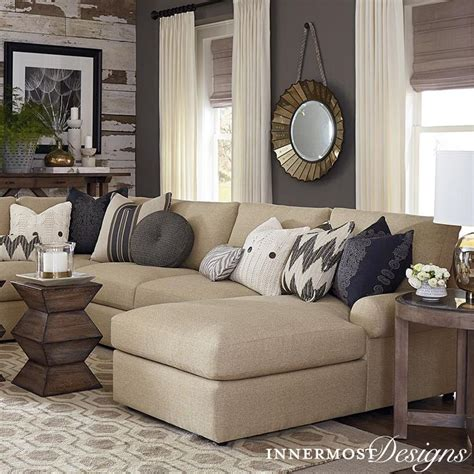 gray walls sofa we all the contrast in this living room the