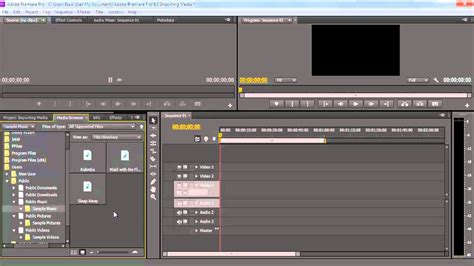 adobe premiere cs6 normalize audio how to import and organize media in premiere pro cs6 youtube