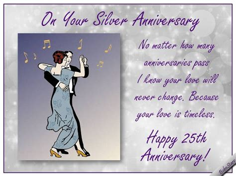25th Wedding Anniversary Greetings Quotes by 29 Best Images About Wedding Anniversary Ecards On