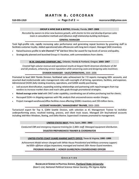 great resume examples for sales dadaji us