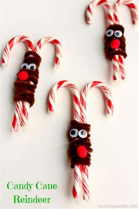 candy cane reindeer candy cane reindeer reindeer craft