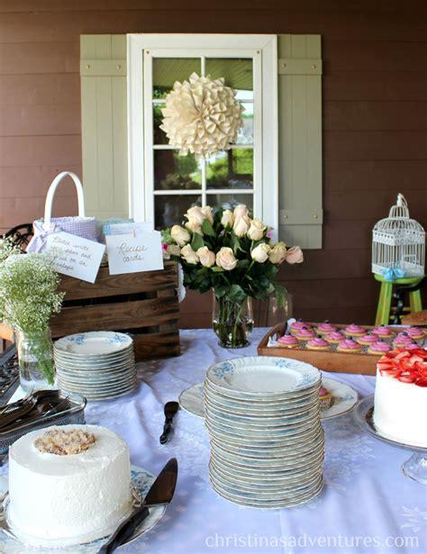vintage centerpieces for bridal shower vintage bridal shower christinas adventures