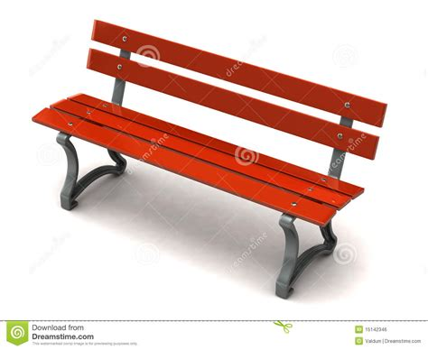red bench red bench royalty free stock image image 15142346