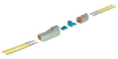 Terminal Konektor 2p Kecil at04 2p r120yel henol sine systems waytek wire