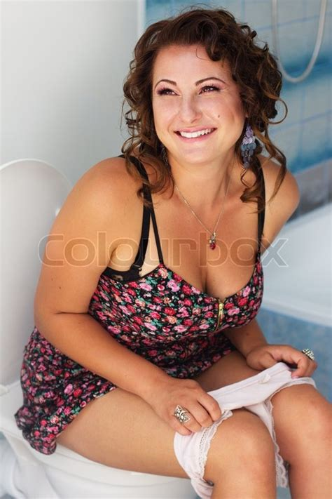 Pant Toilet Pant Celana Belajar Pipis beautiful sitting on a toilet stock photo colourbox