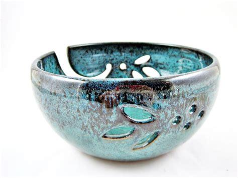 Handmade Bowl - large yarn bowls handmade ceramic yarn bowls handmade