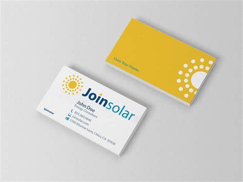 templates buisness card solar solar custom business card bedrock markets