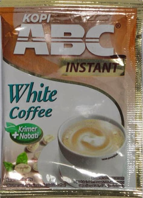 Kopi Abc White sekedar perbandingan rasa white coffee vs white coffee