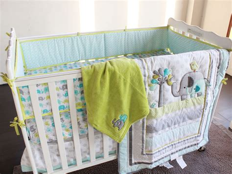 baby crib bedding sets for boys elephant crib bedding boy decorating elephant crib