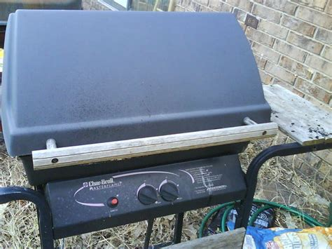turn gas grill  charcoal grill