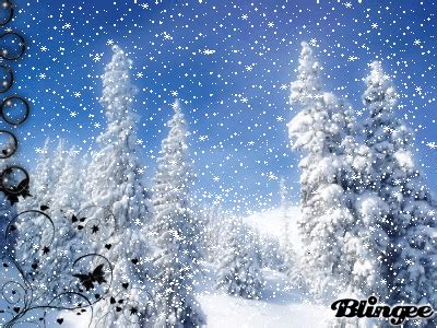 animated snow landscape picture 101659061 blingee com