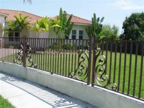 wrought iron fence wrought iron fences home design ideas wrought iron fence designs interior