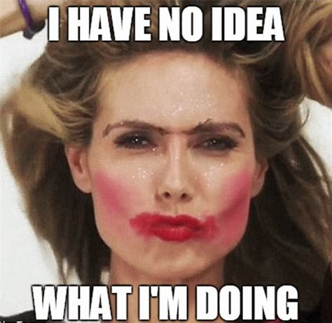 Meme Makeup - 25 very funny makeup images