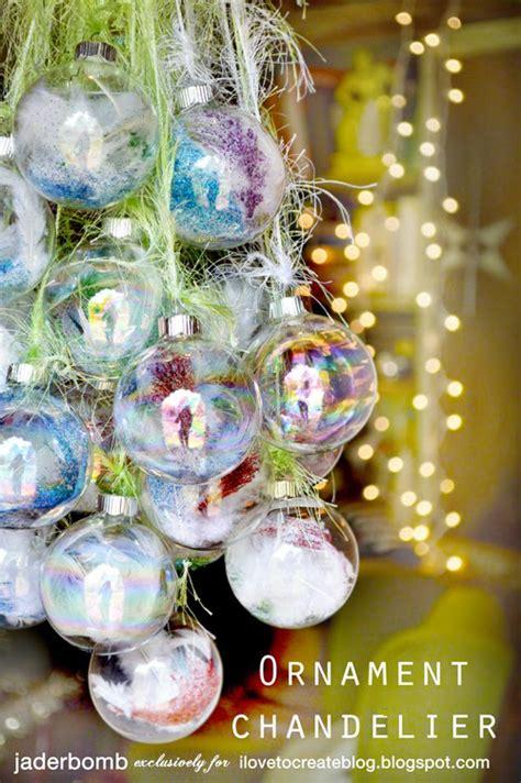 chandelier ornaments diy ornament chandelier ilovetocreate