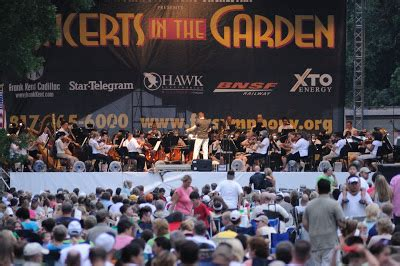 Concert In The Gardens Fort Worth by Concert In The Gardens