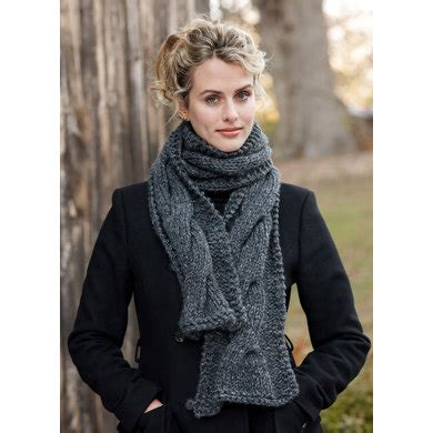 faux cable scarf in lion brand wool ease thick quick cable panel scarf in lion brand wool ease thick quick